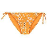 Yellow Floral Tie Side Bikini Bottoms New Look