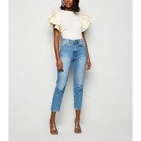 Cameo Rose Cream Layered Sleeve T-Shirt New Look