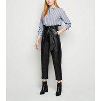 Blue Stripe Long Sleeve Shirt New Look