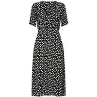 Black-Heart-Print-Puff-Sleeve-Midi-Dress-New-Look