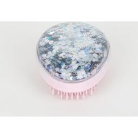 Pink Glitter Dome Hair Brush New Look