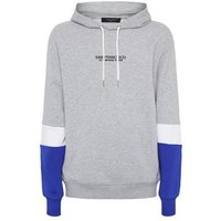 Grey Colour Block San Francisco Slogan Hoodie New Look