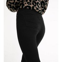 Tall Black 'Lift & Shape' Jeggings New Look
