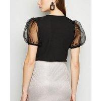 Urban Bliss Silver Glitter Mini Skirt New Look