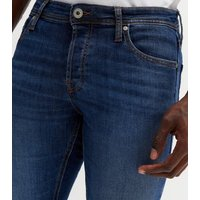 Jack & Jones Blue Dark Wash Slim Jeans New Look