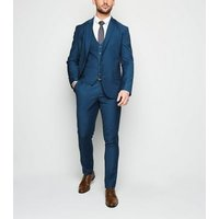 Bright Blue Lightweight Waistcoat New Look