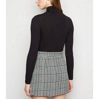 Sunshine Soul Multicoloured Check Mini Skirt New Look