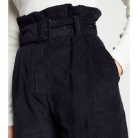 Sunshine Soul Navy Cord Wide Leg Culottes New Look