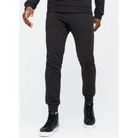 Black Elasticated Waist Cuffed Joggers New Look