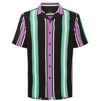 Purple Stripe Short Sleeve Shirt New Look