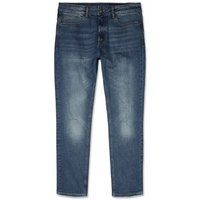 Blue Vintage Washed Slim Stretch Jeans New Look