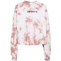 Girls Mid Pink Tie Dye No Slogan Sweatshirt New Look