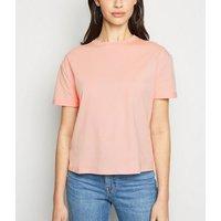 Pink Boxy Cotton T-Shirt New Look