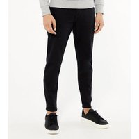 Black Tapered Leg Jeans New Look
