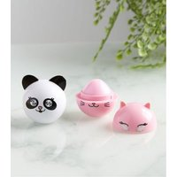 2 Pack Pink Scented Lip Balm Set New Look