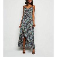 Mela Black Paisley Maxi Dress New Look