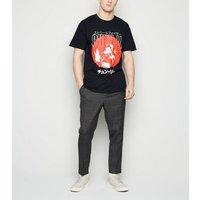 Black Street Fighter Chun Li Anime T-Shirt New Look