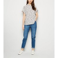 White Spot Short Sleeve Shirt New Look