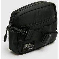 Black Logo Cross Body Bag New Look