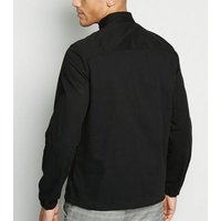 Only & Sons Black Long Sleeve Light Jacket New Look