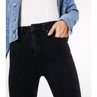 Petite Black Contour Super Skinny Jeans New Look