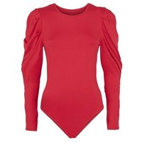 AX-Paris-Red-Puff-Sleeve-Bodysuit-New-Look