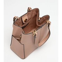 Cream Leather Look Mini Tote Bag New Look Vegan