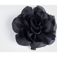 Black Hair Corsage New Look