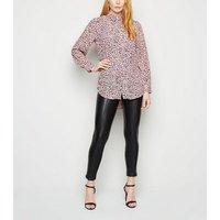 Pink Leopard Print Shirt New Look