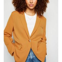 Urban Bliss Tan Oversized Blazer New Look