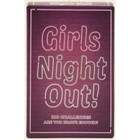 Purple Girls Night Out Challenges Card Game New Look
