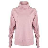 Sculpt Pink Cowl Neck Sports Sweatshirt New Look
