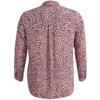 Curves Pink Animal Print Shirt New Look