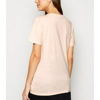 Coral Own Kind of Wonderful Slogan T-Shirt New Look