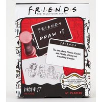 Multicoloured Friends Draw It Game New Look