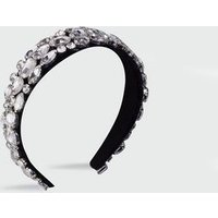 Silver Diamante Embellished Headband New Look
