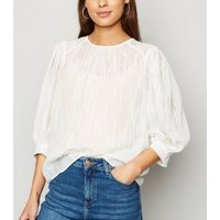 Off-White-Puff-Sleeve-Textured-Blouse-New-Look