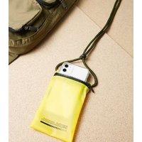 Jack & Jones Yellow Zip Phone Case New Look