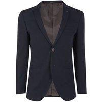 Jack & Jones Navy Single Button Blazer New Look