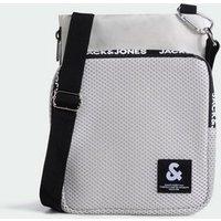 Jack & Jones Pale Grey Sling Bag New Look