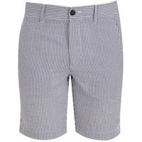 Jack & Jones Pale Blue Stripe Shorts New Look