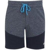 Jack & Jones Bright Blue Colour Block Jersey Shorts New Look