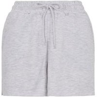 Grey Jersey Tie Waist Shorts New Look