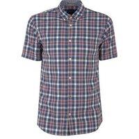 Jack & Jones Mid Pink Check Short Sleeve Shirt New Look
