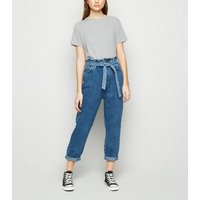 Petite Grey Short Sleeve T-Shirt New Look