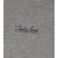 Jack & Jones Grey Marl Logo Crew Neck T-Shirt New Look