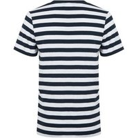 Jack & Jones White Stripe Crew Neck T-Shirt New Look