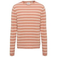 Only & Sons Pink Stripe Crew Neck Top New Look