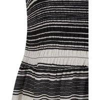 JDY Navy Stripe Sleeveless Skater Dress New Look