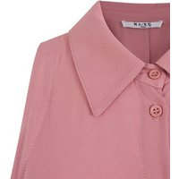 NA-KD Pale Pink Belted Midi Shirt Dress New Look